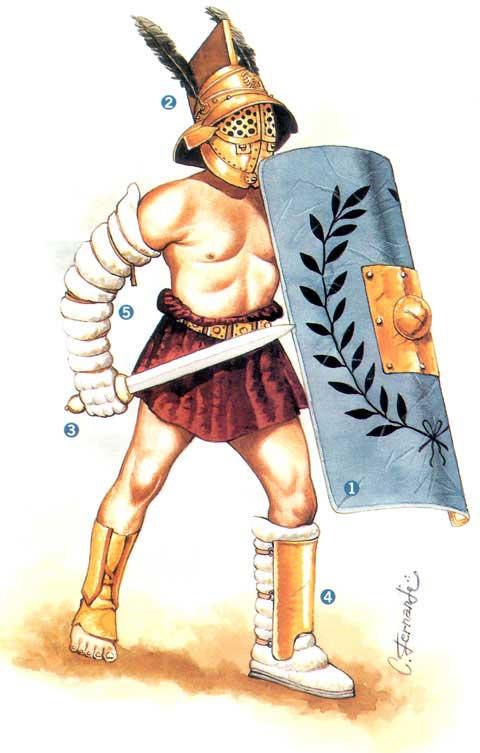 Les Différents Types De Gladiateurs : différents, types, gladiateurs, Types, Gladiateurs, Armes, ⚔️, Boutique-Épées