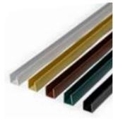 PERFIL REMATE PVC U 2.06 BLANCO