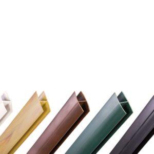 PERFIL UNION PVC H 2.05 VERDE