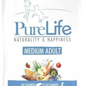 PureLife Medium Adult (Adulto mediano) 12 Kg – 28% Proteína