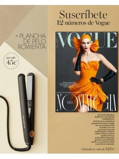 Suscripción Vogue diciembre 2019