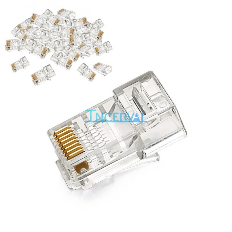 Conector RJ45 para cable Ethernet CAT5e