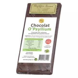 chocolate negro o'psyllium