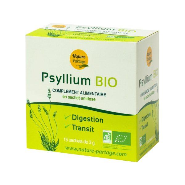 Psyllium orgánico monodosis