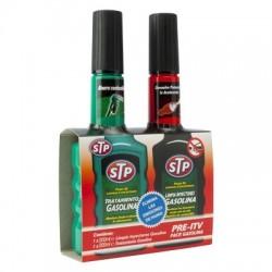 Imagén: Kit Pre-ITV STP Gasolina con Limpia Inyectores 200 ml. + 200 ml.