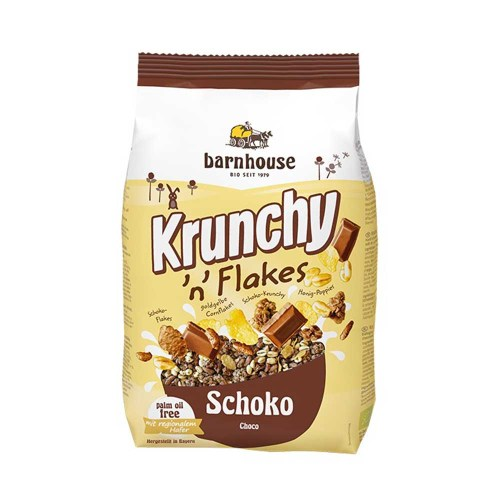 Muesli Krunchy Flakes Choco 375 g – Barnhouse