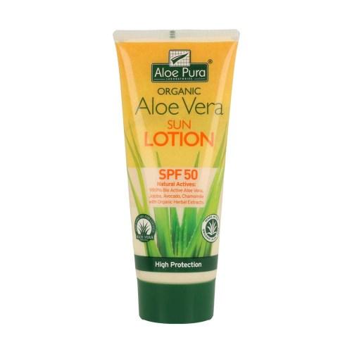 Crema Solar Corporal Aloe Vera Spf 50 200 ml – Aloe Pura