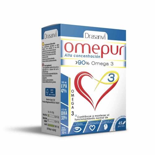 Omepur Omega 3 45 perlas – Drasanvi
