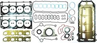 JUNTAS MOTOR Dodge Chrysler 5.7 HEMI l. V8, 300, Aspen, Challenger, Charger,Durango, Ram 1500, 2500, 3500, Jeep Commander, Grand Cherokee, 345Cu. 09/13. (Mult. De Adm/ Esc. II Diseño). Cabezas y Mult. Esc. En MLS. FSX-1182108