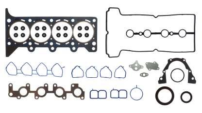 JUNTAS MOTOR Chevrolet 1.2 L. 4 Cil. 16V, DOHC Spark 11/15. Junta cabeza grafitada Junta de admisión y puntería en silicón, escape en MLS. FSX-8940010SB