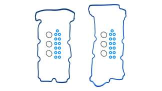 Junta Tapa de punterías Ford, 3.0 l. Lincoln, Mercury, V6, 24V, DOHC, Escape, 06/08, Tribute 2008, Mariner 06/08, Silicon incluye sellos de tornillo y de bujía 34 piezas VSX-2662061