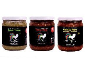 Tierra Brava homemade salsas
