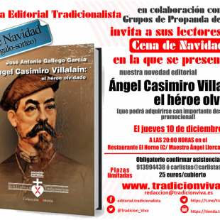 Presentación del libro Ángel Casimiro Villalaín: el héroe olvidado
