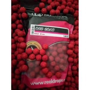 Boilies real drops red crab - Boilies Real Drops Red Crab