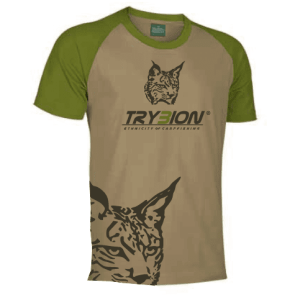 Camiseta Trybion camel kaki - Camiseta Trybion camel Kaki