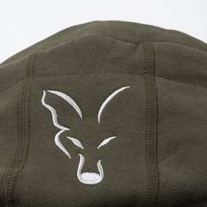 sudadera con capucha fox verde 2 - Sudadera Fox verde con capucha de cremallera