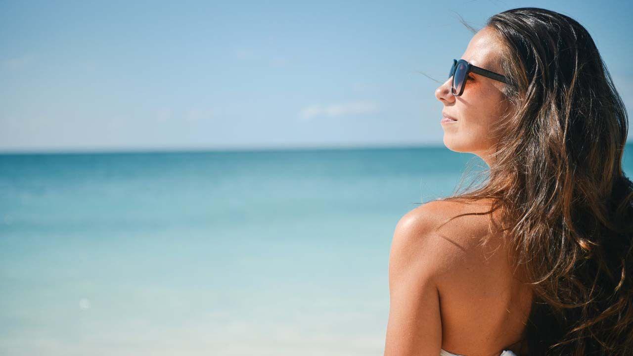 Aplicar protector solar después del maquillaje