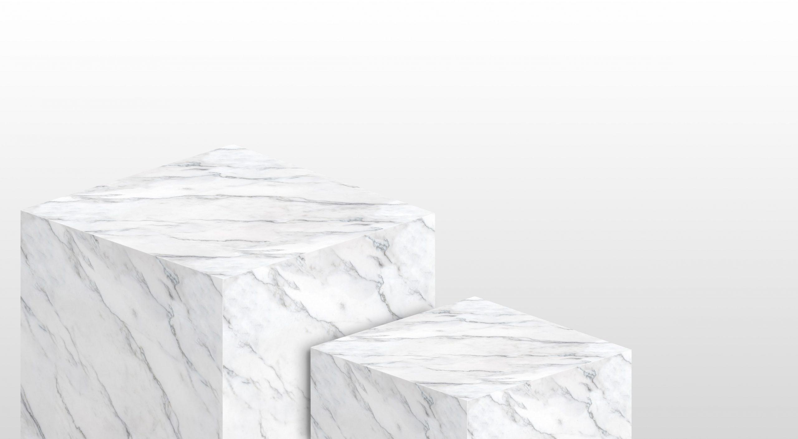 bloques de mármol blanco carrara
