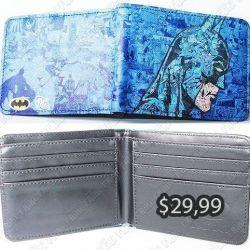 Billetera Cómics Batman Ecuador Comprar Venden, Bonita Apariencia, práctica, Hermoso material: Denim y polippiel Color: Azul Estado: Nuevo