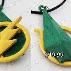Collar Cómics Arrow Ecuador Comprar Venden, Bonita Apariencia, practica, Hermoso material: plástico y aleación Color Verde/Amarillo Estado Nuevo