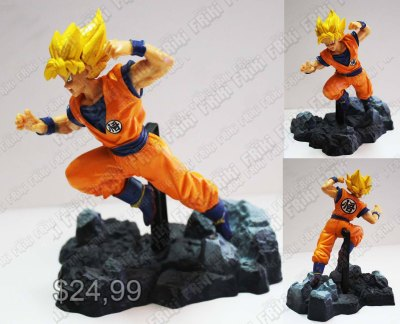 Figura Anime Dragon Ball Goku Super Saiyan Ecuador Comprar Venden, Bonita Apariencia perfecta para coleccionistas y fans de la serie, practica, Hermoso material de plástico Color como en la foto Estado nuevo
