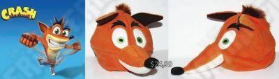Gorro Videojuegos Crash Bandicoot Crash Ecuador Comprar Venden, Bonita Apariencia de Crash, practica, Hermoso material de lana Color naranja Estado nuevo