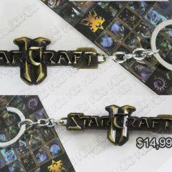 Llavero Videojuegos Starcraft Logo Ecuador Comprar Venden, Bonita Apariencia ideal para los fans, practica, Hermoso material de bronce niquelado Color dorado Estado nuevo