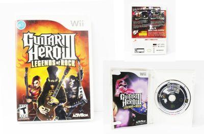 Videojuegos para consola Wii Guitar Hero III: Legends of Rock Ecuador Comprar Venden, Bonita Apariencia ideal para los fans, practica, Hermoso material de papel Color como en la imagen Estado usado