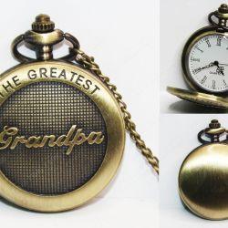 Reloj de collar Varios The best grandpa Ecuador Comprar Venden, Bonita Apariencia ideal para los fans, practica, Hermoso material de bronce niquelado Color como en la imagen Estado nuevo