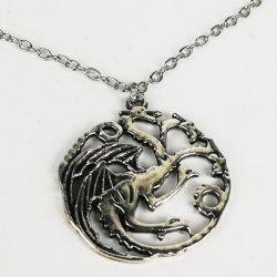 collar Game of Thrones Series tv bisuteria House Targaryen juego de tronos seriéfilo tienda friki