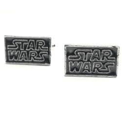 gemelos Star Wars peliculas bisuteria logo La guerra de las galaxias cinéfilo tienda friki