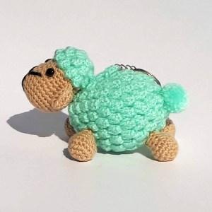 Muñecos amigurumis ovejas