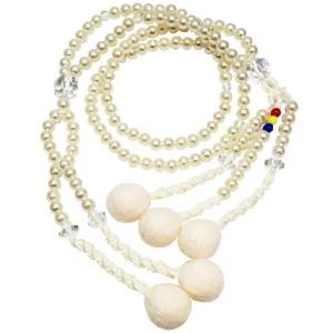 Juzu budista perla natural grande