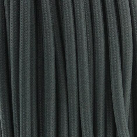 Cable-Textil-Gris