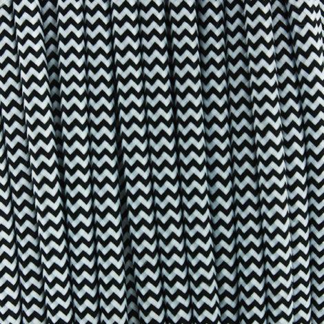 Cable-Textil-NegroBlanco