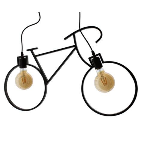 Lampara-de-techo-Vintage-2L-bicycle