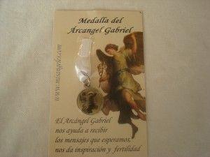 Medalla Arcangel Gabriel