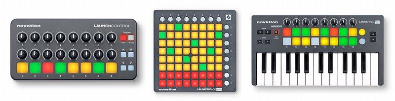 novationminiseries.Launch Control, Launchkey Mini  Launchpad Mini.
