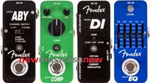 fender-micro-sized-pedals-FENDER MICRO COMPRESSOR