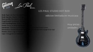 LES PAUL STUDIO HOT ROD