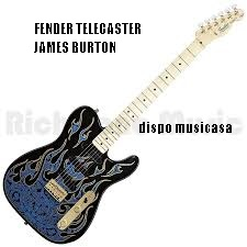 James Burton Telecaster blue