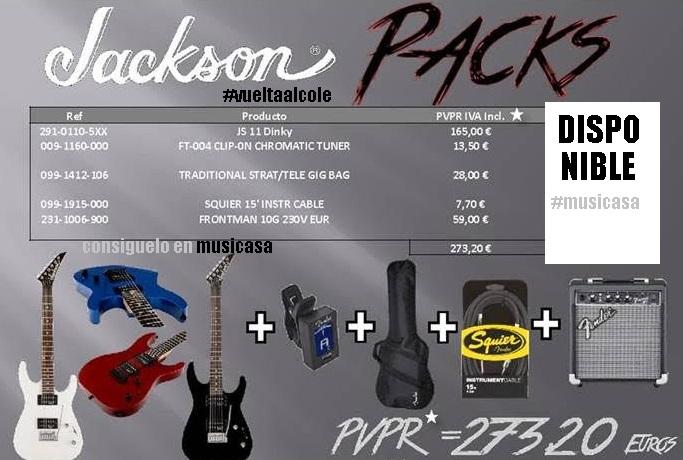 PACKS-JACKSON GUITARS