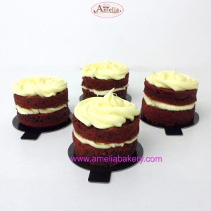 Minicake Pastel Individual Red Velvet