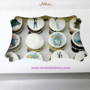 Cupcakes star wars caja 12 cupcakes