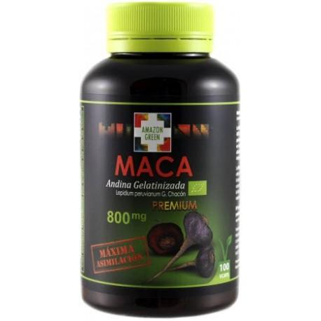 Maca andina roja y negra 800 mg gelatinizada La mejor