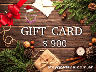 regalá gift cart silver stay gold spa