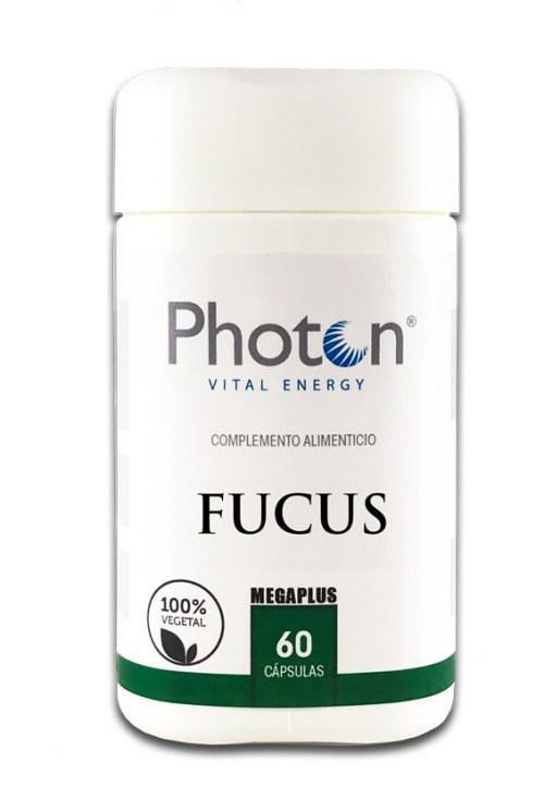 fucus megaplus photon capsulas 100% vegetal indicado como diuretico y saciante del apetito