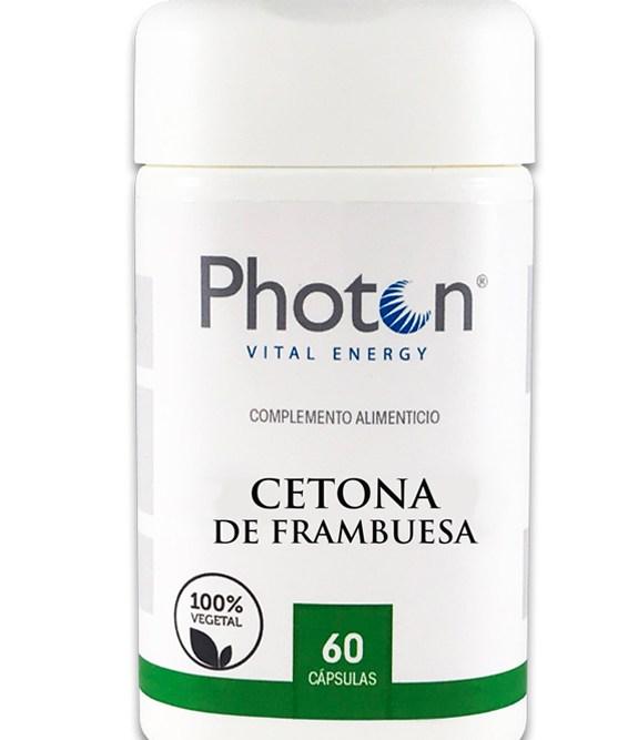cetona de frambuesa photon cápsulas saciante y termogénica
