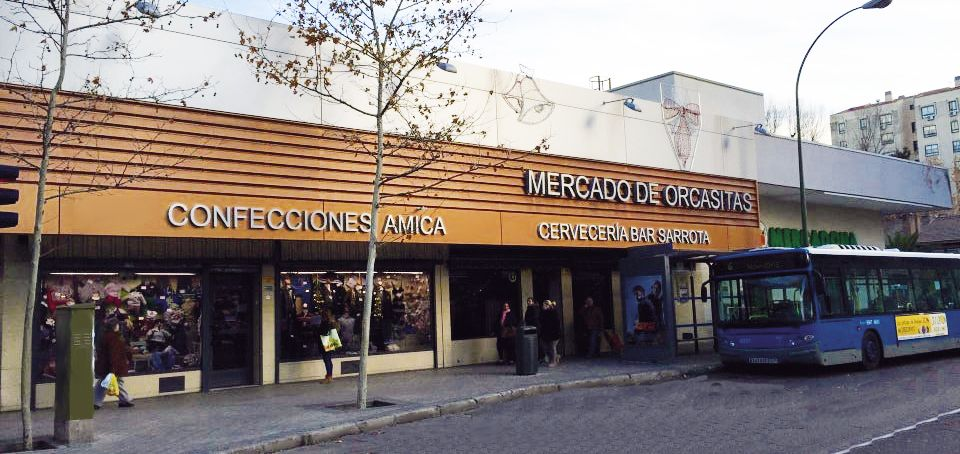 Ubicación de la tienda iDeo del Mercado de Orcasitas