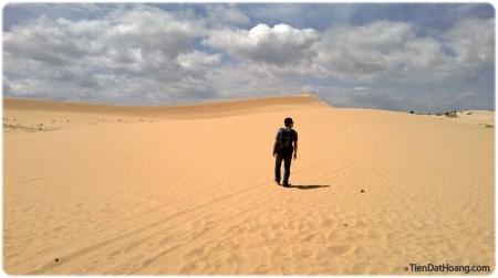 """""""Hello, Sahara!"""" - Mình đã viết như vậy trên Facebook."""